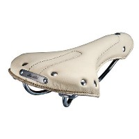 BE・ALL(ビ・オール) LEATHER SADDLE TYPE S CREAM WHITE SD-BA-1308