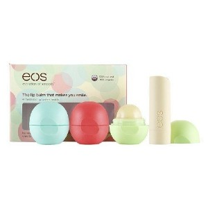 【並行輸入品】EOS Organic Lip Balm - 4 PACK SET