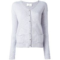 Allude button up cardigan