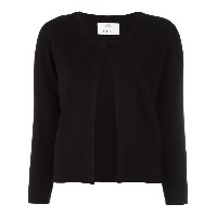 Allude open front cardigan