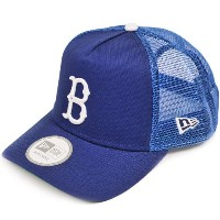 NEW ERA ニューエラ NEWERA A-FRAME TRUCKER MESH CAP BROOKLYN DODGERS(MLB) BLUE/WHITE ニューエラ Aフレイム トラッカー...