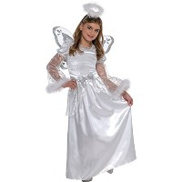 Christmas Angel Kids Costume - 6-8 Years Old - Christys