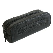 CHROME HEARTS LEATHER POUCH クロムハーツ レザーポーチ 黒