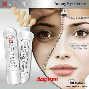 Real Plus Beauty Eye Cream 100% Natural Anti-aging Dark Circle Eye Bag Diminisher Box Set 3ml X 5 ...