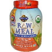 Garden of Life, RAW Meal, Beyond Organic Snack and Meal Replacement, Vanilla Spiced Chai, 2.5 lbs ...
