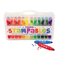 Scented Stampers Markers Set of 24 by International Arrivals