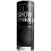 Maybelline Color Show Nail Color, Carbon Frost, .23 fl oz by Maybelline