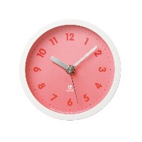 Lemnos candy clock ピンク LC05-15 PK
