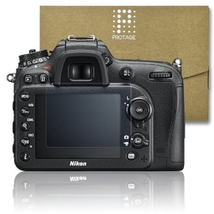 PROTAGE Nikon D7200 / D7100 用 ガラスフィルム ガラス 製 フィルム 液晶保護フィルム 保護フィルム 液晶プロテクター ニコン D7200 / D7100
