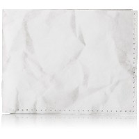 "Dynomighty Crinkled Paper Tyvek Sewn Billfold Wallet, ""A Good Idea Should Never Go To Waste"" -..."