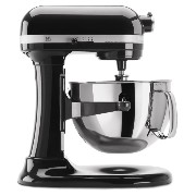KitchenAid スタンドミキサー プロ6シリーズ KP26M1XOB Professional 600 Series 6-Quart Stand Mixer, Black 並行輸入品