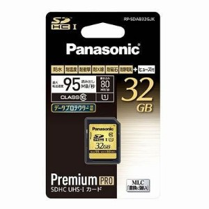 Panasonic 32GB SDHCメモリーカード CLASS10 RP-SDAB32GJK
