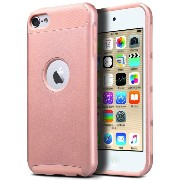 【ULAK】iPod touch ケース シリコンApple ipod touch 6/ipod touch 5 ケース シンプル 耐衝撃 ソフト TPU / PC 二層構造 iPod touch...