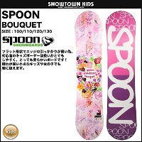 SPOON 15-16 2016 BOUQUET キッズ スノーボード 100