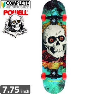 POWELL POWELL PERALTA パウエル コンプリート RIPPER COSMIC GREEN COMPLETE ASSEMBLY7.75 x 31.75 NO64