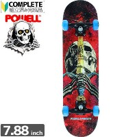 POWELL POWELL PERALTA パウエル コンプリート SKULL AND SWORD COSMIC RED COMPLETE ASSEMBLY7.88 x 31.67 NO66