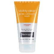 Neutrogena Visibly Clear Gentle Exfoliating Wash (150ml) ニュートロジーナ目に見えて明確な穏やかな角質除去洗浄( 150ミリリットル)