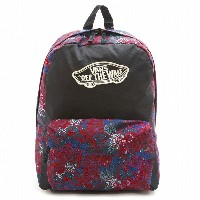 VANS vn000nz0krr- REALM BACKPACK バックパック 女性 子供 レディース キッズ リュックサック メキシコ 人気 ワッペン SAULO /バンズ ヴァンズ【新品・本物】