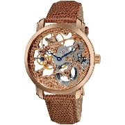Akribos アクリボス XXIV Men's AK406RG Bravura Davinci Mechanical Rose Gold-Tone Watch 男性用 メンズ 腕時計 (並行輸入)