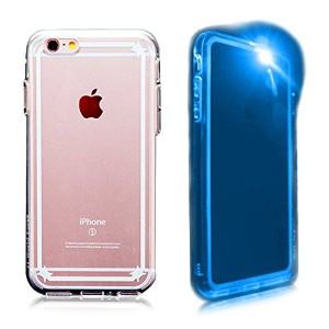 iphone6/6s case,Neonpop[Crystal shine]LED lighting+Glow clear back panel+TPU for iphone6(2014)/6s...
