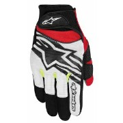AS-SPARTAN-1053-M【税込】 アルパインスターズ メッシュグローブ(BLACK WHITE YELLOW RED M) SPARTAN GLOVE [ASSPARTAN1053M]...