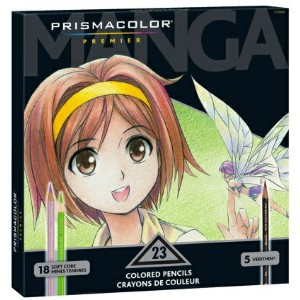 Prismacolor プリズマカラー 色鉛筆 23色 マンガ Prismacolor Premier Colored Pencils, Manga Colors, 23-Count 1774800...