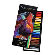 Prismacolor プリズマカラー ヌーパステル 24色セット Prismacolor Premier NuPastel Firm Pastel Color Sticks, 24-Count...