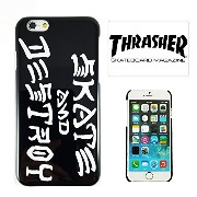 【 THRASHER 】iPhone6 / iPhone6S ケース スラッシャー SKATE AND DESTROY TH005 [] [並行輸入品]