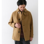 DOORS ORCIVAL NEW GEELONG LAMBS SHORT COAT【アーバンリサーチ/URBAN RESEARCH ノーカラーコート】