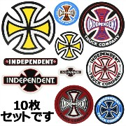 INDEPENDENT (インディペンデント) Pack of 10 Assorted Decals 10種類入りステッカーセット 【アソート】 [並行輸入品]