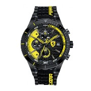 [フェラーリ]Ferrari 腕時計 REDREV EVO Analog Display Japanese Quartz Black Watch 0830261 メンズ [並行輸入品]