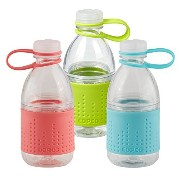 Copco Hydra Bottle, 10-ounce, 3 Pack, (Coral, Lime, Mint) by Copco