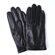 iTouch Gloves アイタッチグローブ Solid Leather タッチパネル対応 レザー 手袋 Black iTGL-011-BK/Lsize
