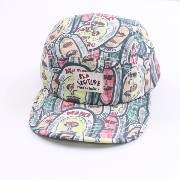 KID CREATURE(キッドクリエイチャー)FAMILY OF MONSTERS 5 Panel Hat キャップ