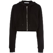 Givenchy cropped classic hoodie