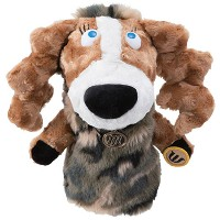 MU Sports Ladies Fairway Wood Cover Dog Plush【ゴルフ レディース>ヘッドカバー】
