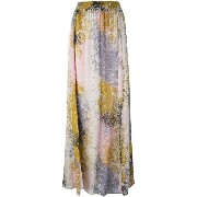 Diane Von Furstenberg abstract print long skirt