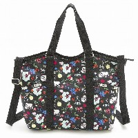 LeSportsac レスポートサック トートバッグ 9811 Small Carry All D839 SCHOOL'S OUT [並行輸入商品]
