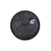 "Star Wars Lenticular Wall Clock ""Death Star"""