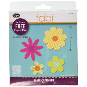 Sizzix Bigz Dies Fabi Edition-Flower Layers #15 (並行輸入品)
