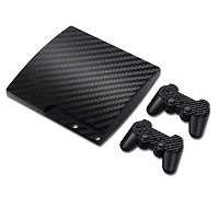 Linyuan 安定した品質 TN945*Skin Sticker ステッカー Cover for PS3 PlayStation 3 Slim+2 Controllers