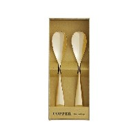 COPPER the cutlery アイスクリームスプーン 2pc /Gold mirror