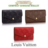 Louis Vuitton(ルイヴィトン)★CURIEUSEコンパクトウォレット Louis Vuitton(ルイヴィトン) バイマ BUYMA