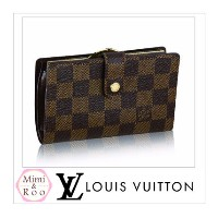 Louis Vuitton ダミエ PORTEFEUILLE VIENNOIS 折りたたみ財布 Louis Vuitton(ルイヴィトン) バイマ BUYMA