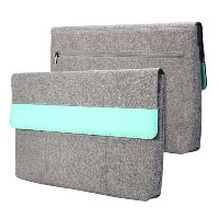 GMYLE Sleeve Cushion Microsoft Surface Pro 3 / Surface Pro 4 專用 - Charcoal Grey & Mint Green...
