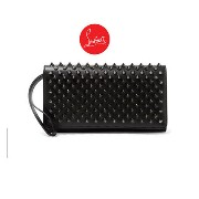 Christian Louboutin ★ルブタン Macaron spiked leather wallet Christian Louboutin(クリスチャンルブタン) バイマ BUYMA
