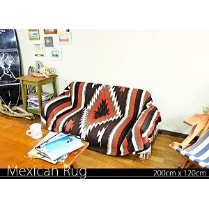 RUG&PIECE Native Mexican Rug ネイティブ柄 メキシカンラグ 200cm×120cm