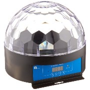 """1byone O00QS-0060 8.6"""" Crystal Super LED Stage Light with Sound Activated & Dmx512 Control"""