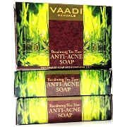 Vaadi Herbals Anti Acne Becalming Tea Tree Soap 3x75g