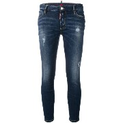 Dsquared2 cropped Twiggy jeans